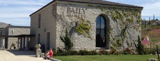 Baily Vineyard & Winery is one of Temecula Wineries.