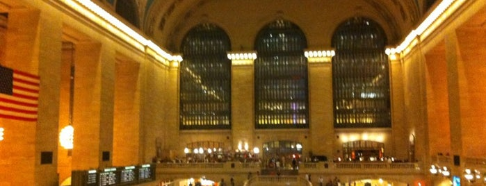 Grand Central Terminal is one of New York for the 1st time !.