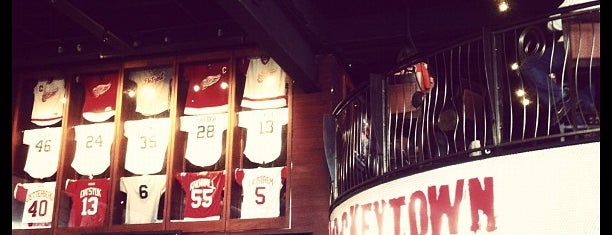 Hockeytown Cafe is one of Olly Checks In - Detroit.