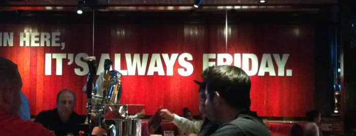TGI Fridays is one of Favorite Food.