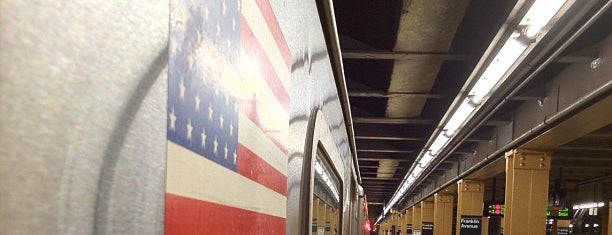 MTA Subway -  Franklin Ave (2/3/4/5) is one of NYC Subways 4/5/6.