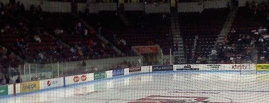 Agganis Arena is one of 2012-13 Merrimack College Hockey Road Trips.