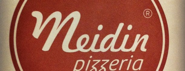 Pizzeria Meidin is one of Tania.