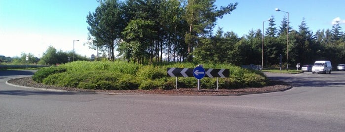 Skeoch Roundabout is one of Named Roundabouts in Central Scotland.