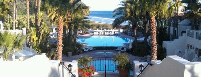 The Ritz-Carlton Bacara, Santa Barbara is one of santa barbara favs.