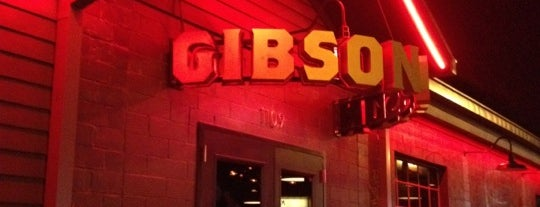 Gibson Bar is one of barz.