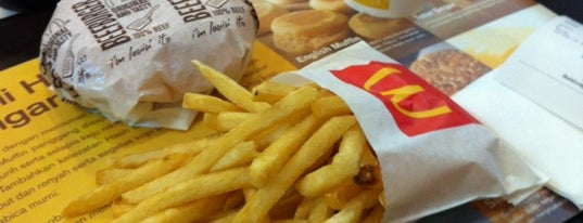 McDonald's is one of Must-visit Food in Jakarta.