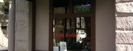 Red Rock Coffee is one of Caffeinate Here.