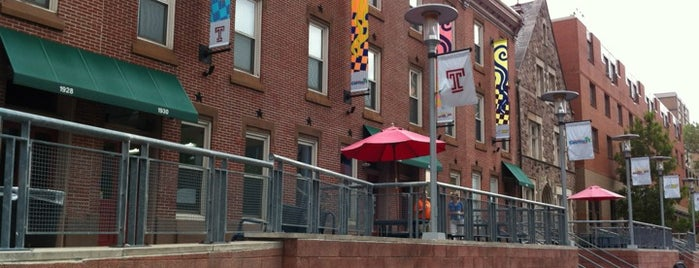 Liacouras Walk is one of Temple University.