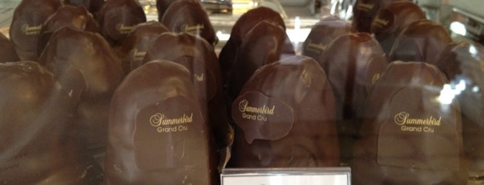 Summerbird Chocolaterie is one of Sweden/Denmark.