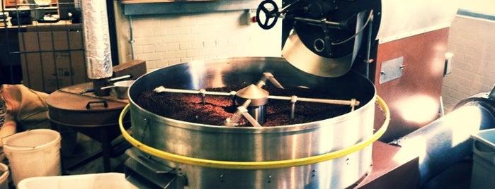 Allpress Espresso Bar is one of London Coffee Crawl.