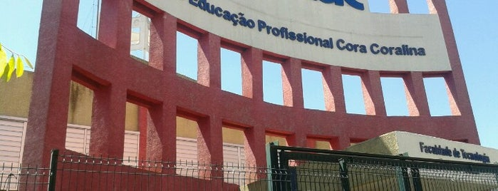 Faculdade de Tecnologia Senac Goiás is one of Hcssjt.