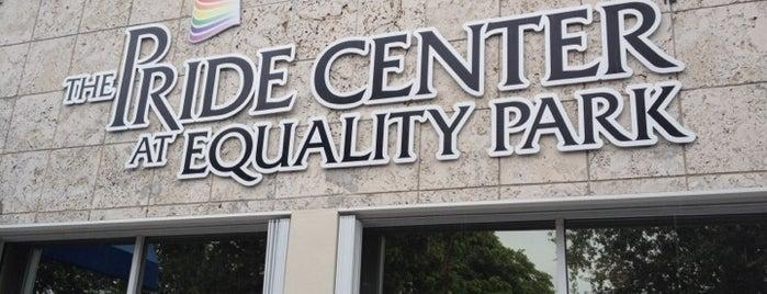 Pride Center at Equality Park is one of Gayborhood #FortLauderdale #WiltonManors.