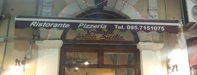 Osteria Antica Sicilia is one of Where find City Map.