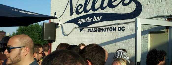 Nellie's Sports Bar is one of DC Scene.