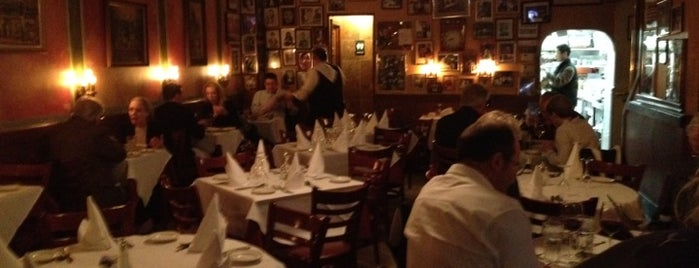 Monte's Trattoria is one of NY Region Old-Timey Bars, Cafes, and Restaurants.