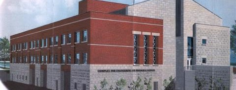 Engineering and Biological Sciences Building is one of Campus Tour.