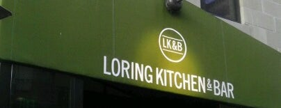 Loring Kitchen and Bar is one of Restaurants.