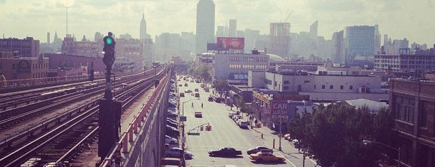 Queens Blvd is one of NEW YORK 6.