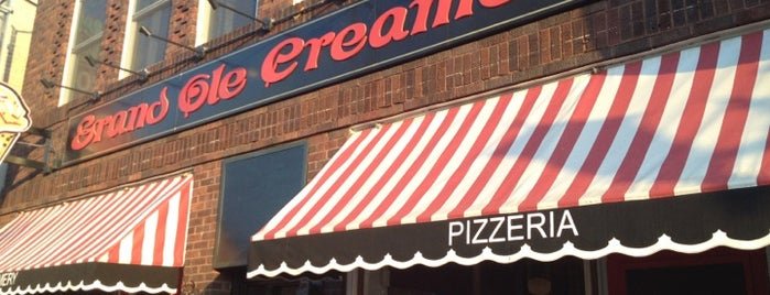 Grand Ole Creamery & Grand Pizza is one of Restaurants.