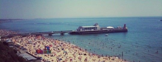 Bournemouth Beach is one of Shelbyart's Favourite Places.
