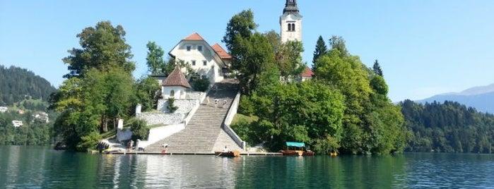 Blejski Otok (Bled Island) is one of Slovenia 2013.
