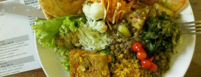 Maha Mantra Culinária Orgânica is one of VeganSP.