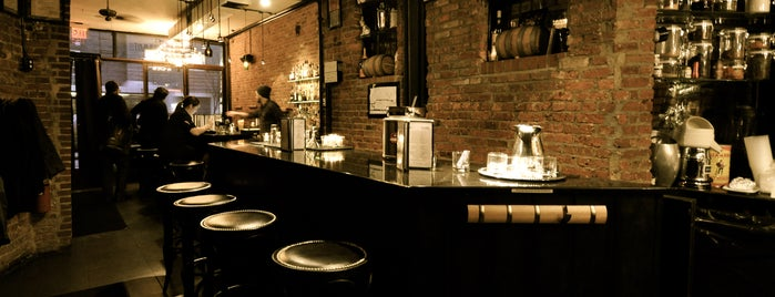 The Summit Bar is one of TONY Best Spring Bars in East Village.