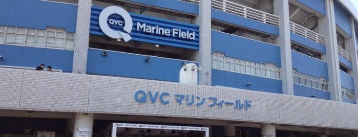 ZOZO Marine Stadium is one of 読売巨人軍.