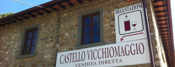 Castello Vicchiomaggio is one of Chianti Classico Producers.