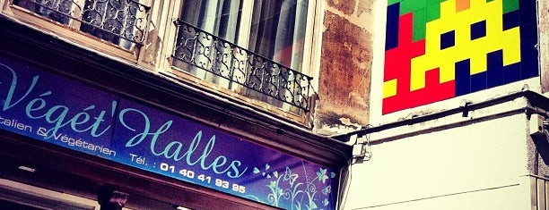 Saveurs Végét'Halles is one of Paris.