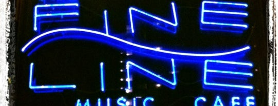 Fine Line Music Cafe is one of asdf.