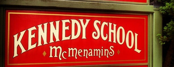 McMenamins Kennedy School is one of Portland by Bike.