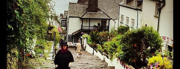 Clovelly is one of England 1991.