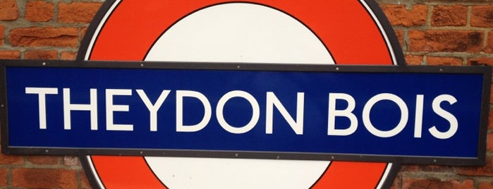 Theydon Bois London Underground Station is one of Tube Challenge.