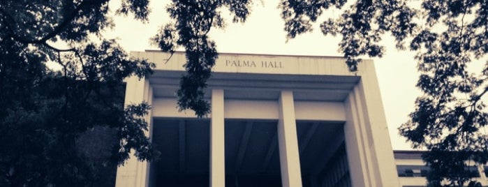 Palma Hall is one of UPD.