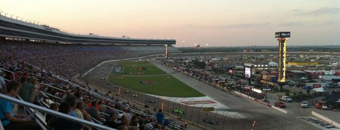 Texas Motor Speedway is one of Best Nascar Race Car Tracks.