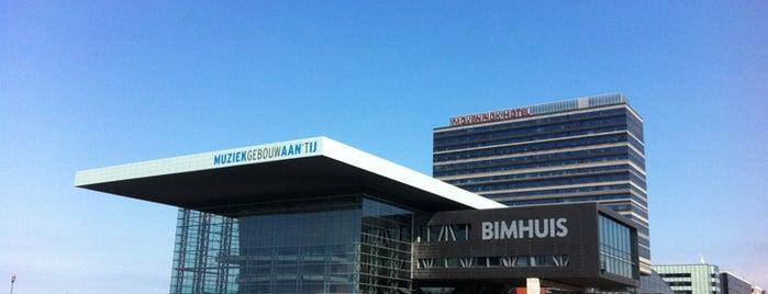 Muziekgebouw aan 't IJ is one of Amsterdam Architectural.