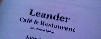 Leander is one of Berlin - It's time for brunch.