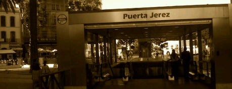 METRO Puerta de Jerez is one of Metro de Sevilla - Línea 1.