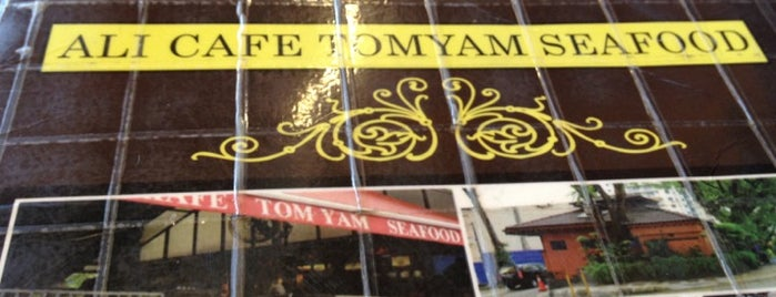 Ali Café Tomyam Seafood is one of F&B.