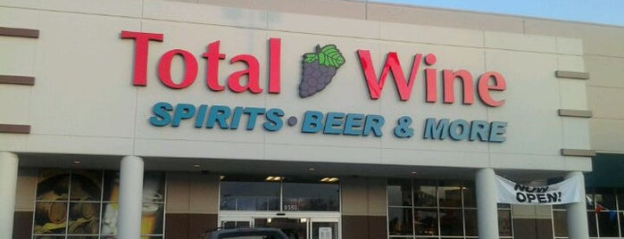 Total Wine & More is one of DFW Craft Brew Stores.