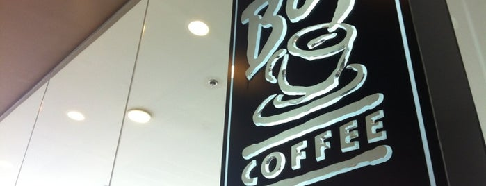 Bo's Coffee is one of I want to eat, drink and be merry....