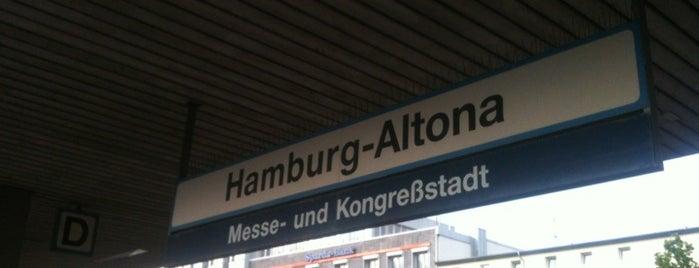 Bahnhof Hamburg-Altona is one of DB ICE-Bahnhöfe.