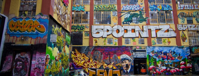 5 Pointz is one of All the New York.