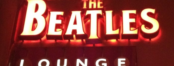 The Beatles REVOLUTION Lounge is one of Vegas.