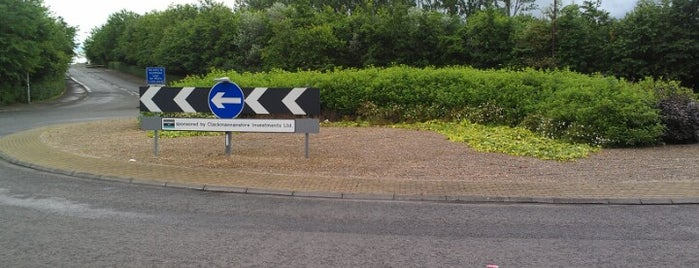Arnsbrae Roundabout is one of Named Roundabouts in Central Scotland.