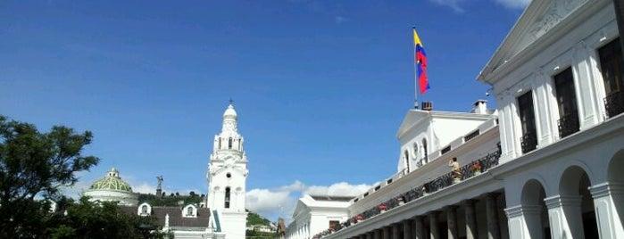 Plaza Grande is one of Ecuador best spots.