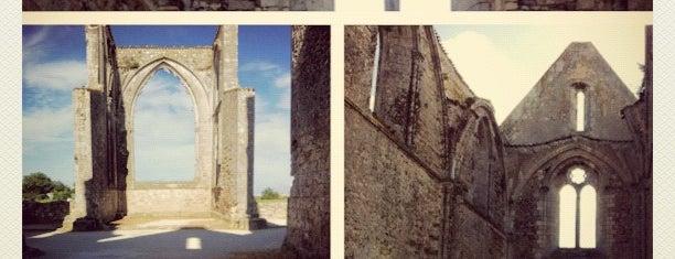 Abbaye Notre-Dame-de-Ré (des Châteliers) is one of 36 Hours In... Ile de Ré.