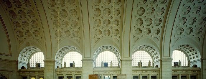 Union Station is one of Virginia/Washington D.C..